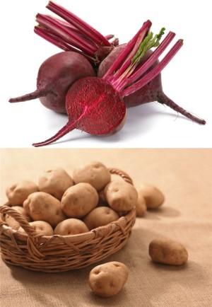 Свойства картофеля и свеклы