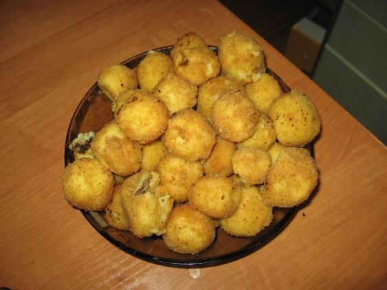 Картофельные крокеты во фритюре