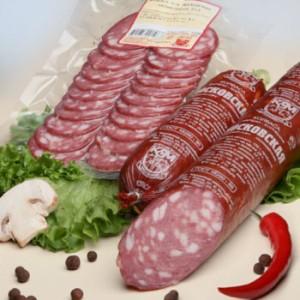 копченая и копченая колбаса