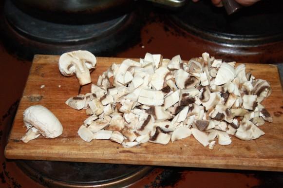 Котлеты куриные с грибами. Рецепт приготовления с фото