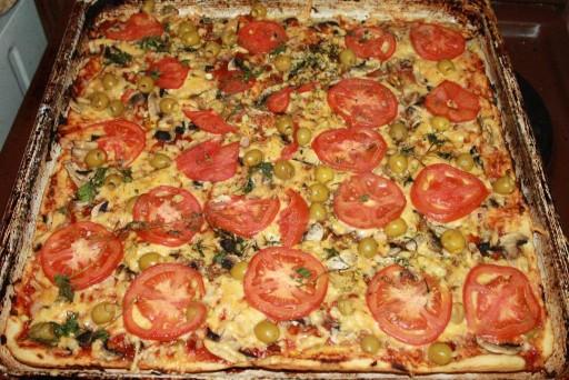 Пицца в домашних условиях в духовке с фото 959