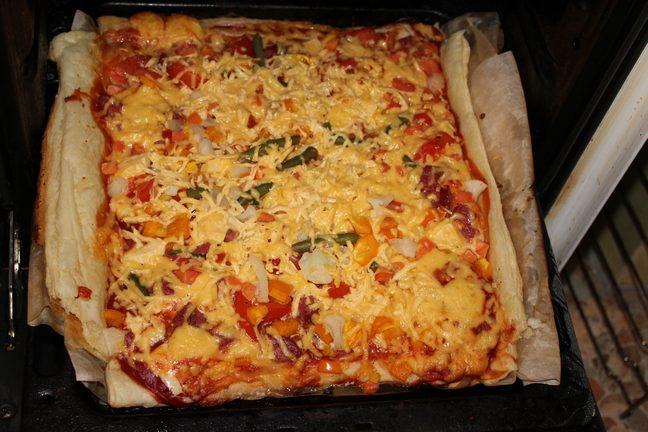 Как приготовить пиццу в домашних условиях с фото