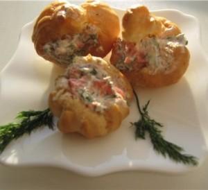 Профитроли - мини булочки из Франции