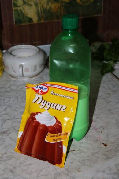Шоколадный пудинг. Рецепт приготовления с фото