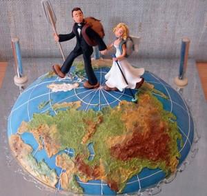 Свадебный торт - самое главное на праздничном столе