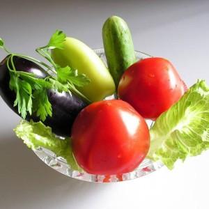 Свежие, вегетативные овощи