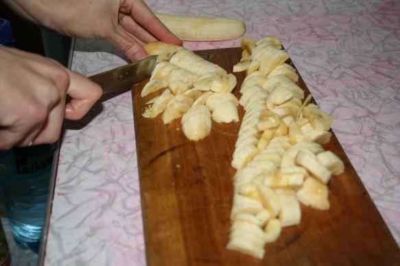 Рецепт приготовления ванильного пудинга с банановой начинкой с фото